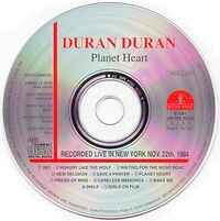 Planet heart golden stars bootleg wikipedia duran duran italy flag discogs