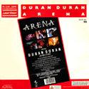 Arena LASER DISC · PMI-LASER VISION-EMI · UK · MLP 99 10991 wikipedia duran duran 1