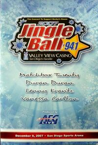Jingle ball 94.1 radio wikipedia lenny kravitz duran duran