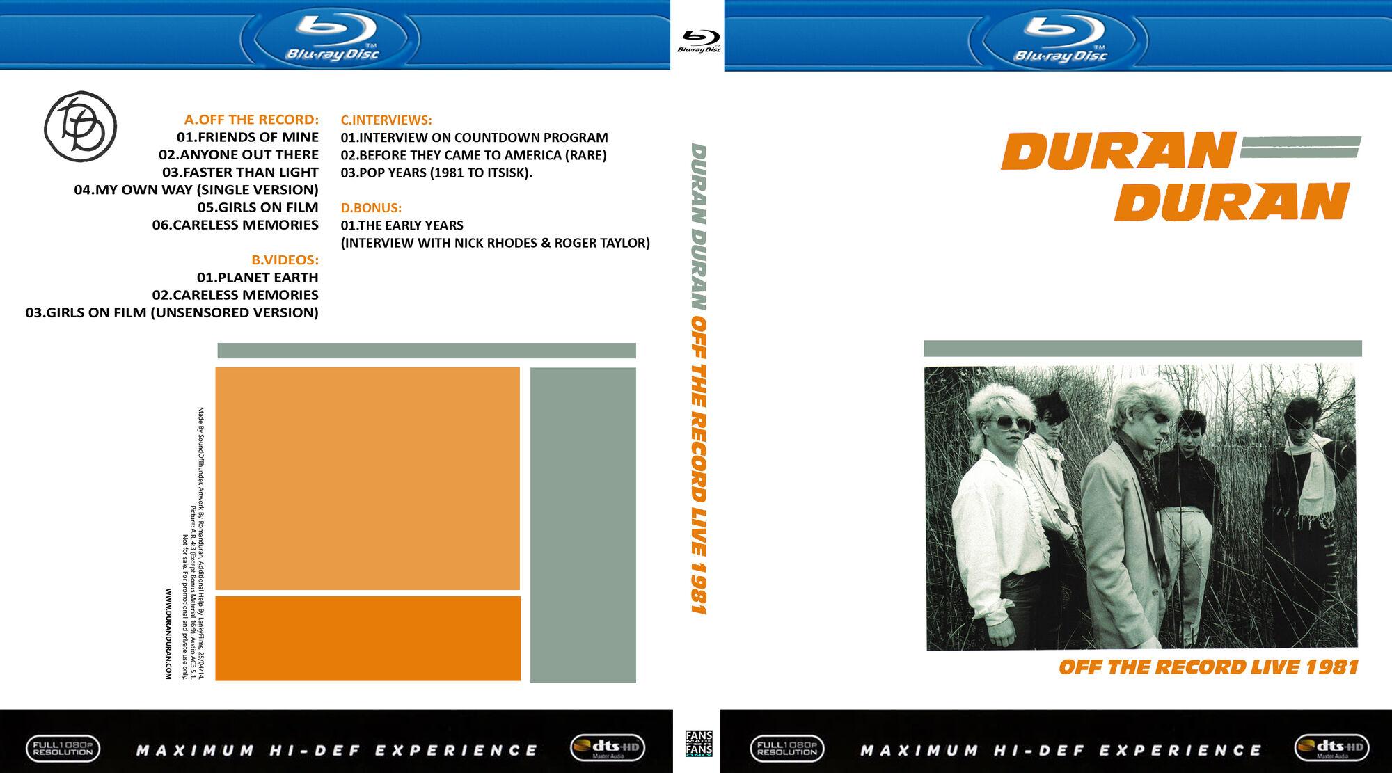 Duran Duran - Bootleg DVDs   Duran Duran Wiki   FANDOM powered by Wikia