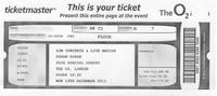 Ticket o2 arena concert review duran duran 2011