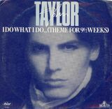Image-John taylor single cover I Do What I Do