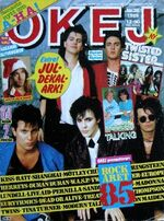 Swedish magazine OKEJ 26-1985 (A-ha Modern Talking Sandra Iron Maiden duran Duran wikipedia
