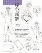 Shinra character sheet