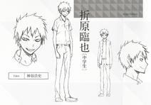 Izaya Raijin character sheet