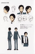Mikado season 1 character sheet