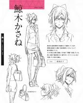 Kasane character sheet