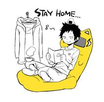 Yasuda stay home