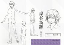 Shinra Raijin character sheet