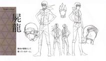 Dragon Zombie character sheet