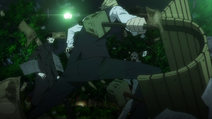 X2 EP02 Shizuo fights Hollywood and Egor