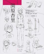 Anri Sonohara season 2 character sheet