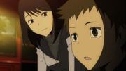 Drrr E09 Namie and Seiji young