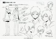 Izaya season 2 character sheet
