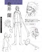 Izumii character sheet