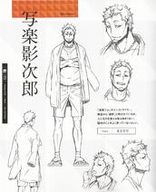 Eijiro character sheet