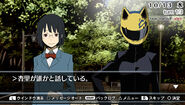 3way standoff alley Anri and Celty