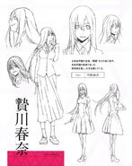 Haruna character sheet