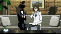 S1 E16 Celty and Shinra