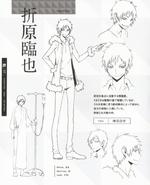 Izaya character sheet