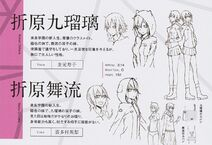 Mairu and Kururi character sheet