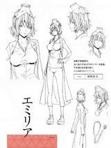 Emilia character sheet