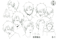Izaya season 1 character sketches