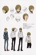 Masaomi season 1 character sheet