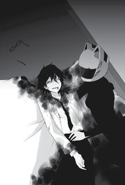 Shinra Attacked Durarara!!x8 LN
