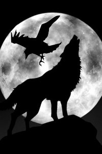 Howling Wolf Moon