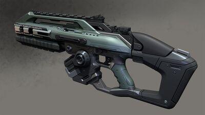Assault Rifle New Art