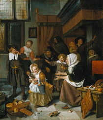 Sinterklaas -jan steen1