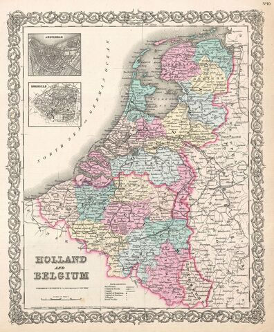 File:1855 Colton Map of Holland and Belgium - Geographicus - HollandBelgium-colton-1855.jpg