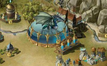 Waterdraak Outpost met bepantserde draak