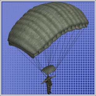 Paratrooper Model Duty Calls