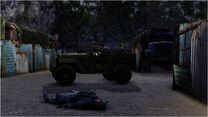 Enemy jeep
