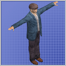 Old Man Model Duty Calls