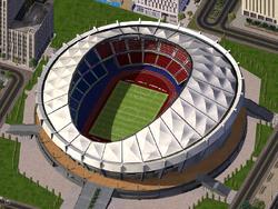 Gangnam Stadium summer