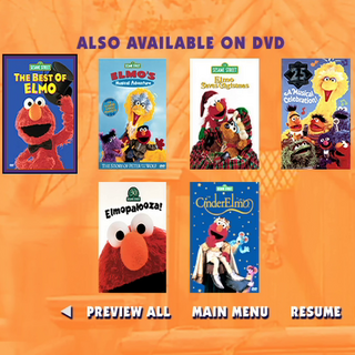 Special Sesame Street Home Video Trailers