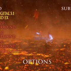 Star Wars: Revenge of the Sith - Mustafar Options Screenshot