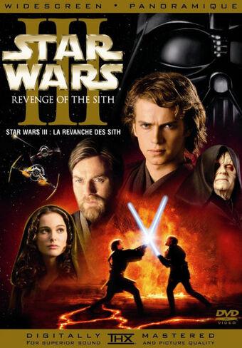 Star Wars Episode Iii Revenge Of The Sith Dvd Database Fandom