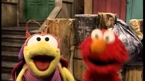 Elmo in Grouchland - Bill the Bug and Elmo introduction