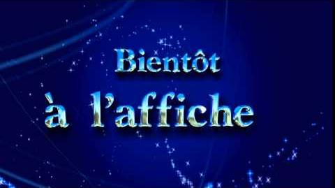 Disney Coming to Theaters Bumper (2015) French version
