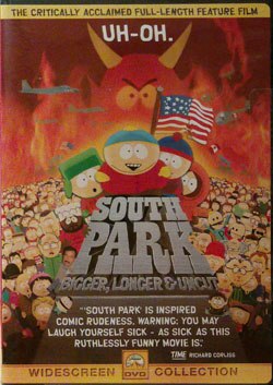 Southparkblu dvd