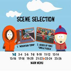 South Park Bigger, Longer & Uncut - Scene Selection