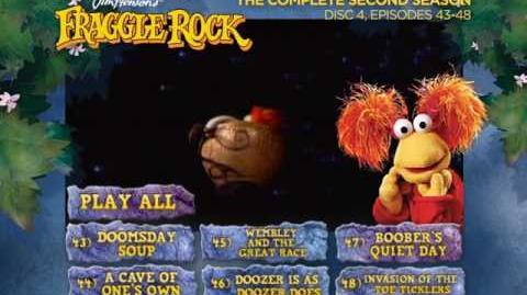Fraggle Rock - Season 2 Disc 4 Main Menu (2013)