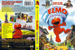 Elmo in Grouchland US DVD cover