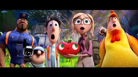 Cloudy with a Chance of Meatballs 2 Trailer (Now Available Version)