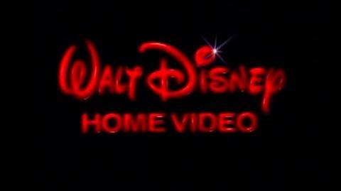 1986 Walt Disney Home Video Logo (DVD Quality)