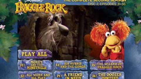 Fraggle Rock - Season 2 Disc 2 Main Menu (2013) (Alternative)